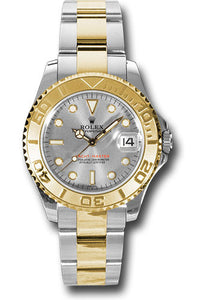 Rolex Steel and 18k YG Yachtmaster - 35mm #168623 pl