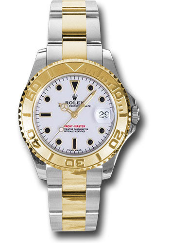 Rolex Steel and 18k YG Yachtmaster - 35mm #168623 w