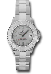 Rolex Steel and Platinum Yachtmaster - 29mm #169622