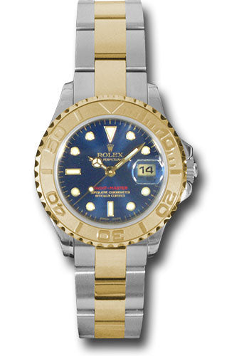 Rolex Steel and 18k YG Yachtmaster - 29mm #169623 b