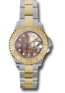 Rolex Steel and 18k YG Yachtmaster - 29mm #169623 dkm