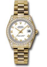 Rolex 18k YG Datejust - 31mm - Mid-Size #178158 wrp