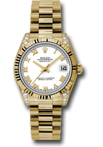 Rolex 18k YG Datejust - 31mm - Mid-Size #178238 wrp