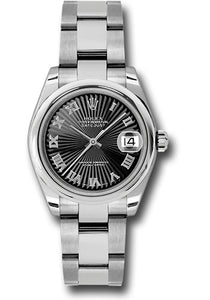Rolex Steel Datejust - 31mm - Mid-Size #178240 bksbro