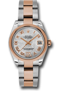 Rolex Steel and RG Datejust - 31mm - Mid-Size #178241 mdro