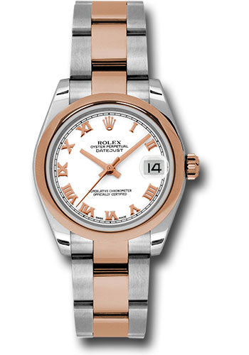 Rolex Steel and RG Datejust - 31mm - Mid-Size #178241 wro