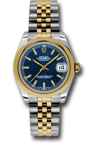 Rolex Steel and YG Datejust - 31mm - Mid-Size #178243 blij