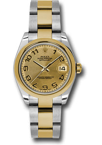 Rolex Steel and YG Datejust - 31mm - Mid-Size #178243 chcao