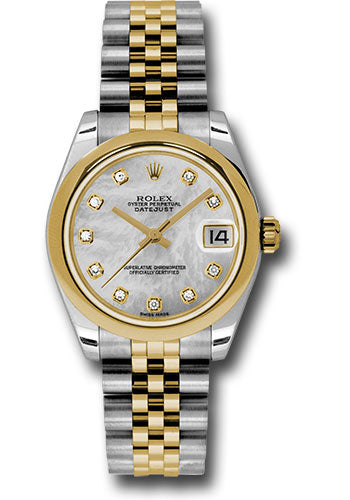 Rolex Steel and YG Datejust - 31mm - Mid-Size #178243 mdj