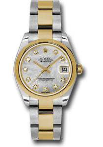 Rolex Steel and YG Datejust - 31mm - Mid-Size #178243 mdo