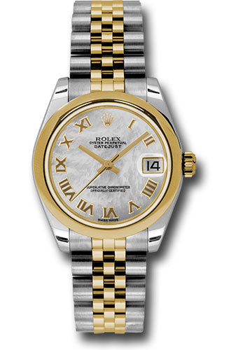 Rolex Steel and YG Datejust - 31mm - Mid-Size #