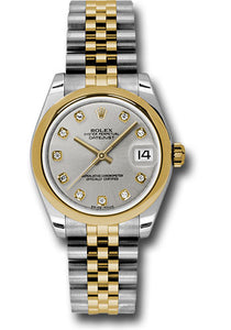 Rolex Steel and YG Datejust - 31mm - Mid-Size #178243 sdj