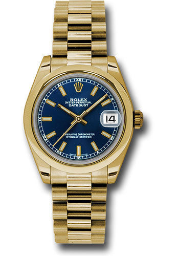 Rolex 18k YG Datejust - 31mm - Mid-Size #178248 blip