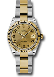Rolex Steel and 18k YG Datejust - 31mm - Mid-Size #178273 chcao
