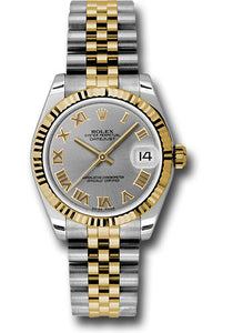 Rolex Steel and 18k YG Datejust - 31mm - Mid-Size #