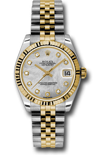 Rolex Steel and 18k YG Datejust - 31mm - Mid-Size #178273 mdj