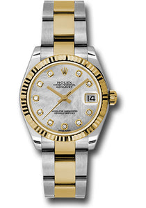 Rolex Steel and 18k YG Datejust - 31mm - Mid-Size #178273 mdo