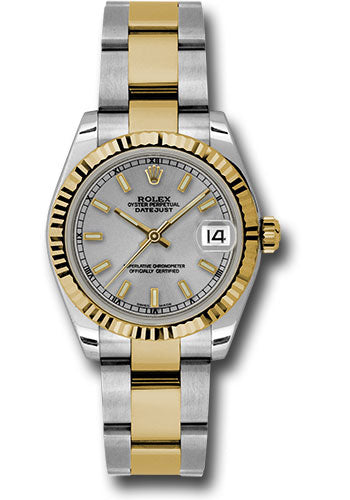 Rolex Steel and 18k YG Datejust - 31mm - Mid-Size #178273 sio