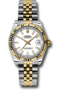 Rolex Steel and 18k YG Datejust - 31mm - Mid-Size #178273 wij