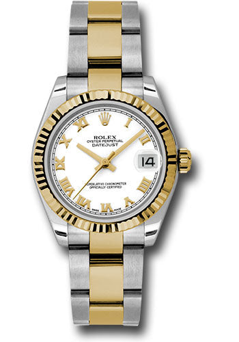 Rolex Steel and 18k YG Datejust - 31mm - Mid-Size #178273 wro