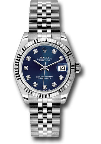 Rolex Steel and 18k WG Datejust - 31mm - Mid-Size #