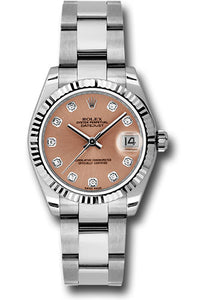 Rolex Steel and 18k WG Datejust - 31mm - Mid-Size #178274 pdo