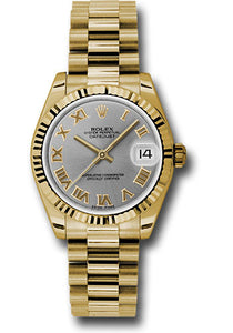 Rolex 18k YG Datejust - 31mm - Mid-Size #