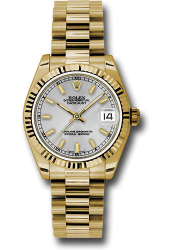 Rolex 18k YG Datejust - 31mm - Mid-Size #178278