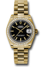 Rolex 18k WG & Diamond Datejust - 31mm - Mid-Size #178288 bkip