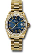 Rolex 18k WG & Diamond Datejust - 31mm - Mid-Size #178288 blcap
