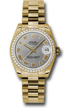 Rolex 18k WG & Diamond Datejust - 31mm - Mid-Size #178288 grp
