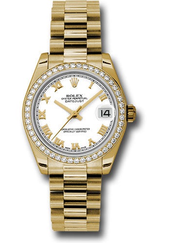 Rolex 18k WG & Diamond Datejust - 31mm - Mid-Size #178288 wrp