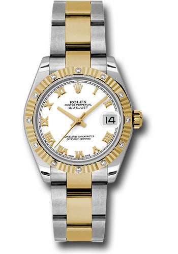 Rolex Steel, YG, & Diamond Datejust - 31mm - Mid-Size #178313 wro