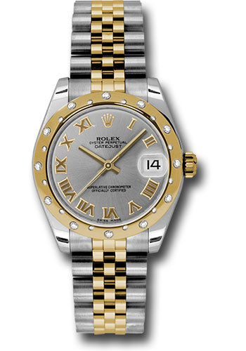 Rolex Steel, YG, & Diamond Datejust - 31mm - Mid-Size #178343 grj