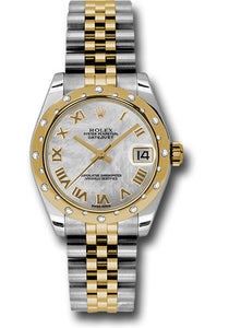 Rolex Steel, YG, & Diamond Datejust - 31mm - Mid-Size #178343 mrj