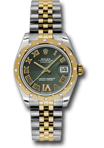 Rolex Steel, YG, & Diamond Datejust - 31mm - Mid-Size #178343 ogdrj