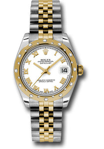 Rolex Steel, YG, & Diamond Datejust - 31mm - Mid-Size #178343 wrj