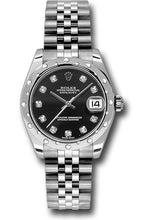Rolex Steel, WG, & Diamond Datejust - 31mm - Mid-Size #178344 bkdj