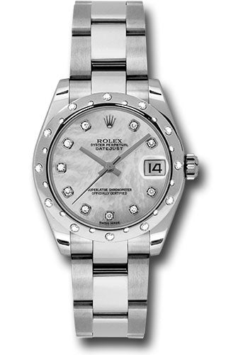 Rolex Steel, WG, & Diamond Datejust - 31mm - Mid-Size #178344 mdo