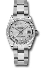 Rolex Steel, WG, & Diamond Datejust - 31mm - Mid-Size #178344 mdro