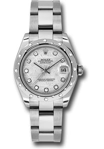 Rolex Steel, WG, & Diamond Datejust - 31mm - Mid-Size #178344 mtdo