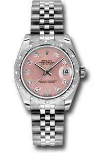 Rolex Steel, WG, & Diamond Datejust - 31mm - Mid-Size #178344 pdj