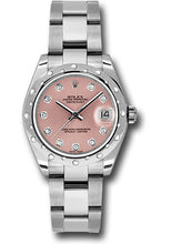 Rolex Steel, WG, & Diamond Datejust - 31mm - Mid-Size #178344 pdo