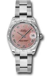 Rolex Steel, WG, & Diamond Datejust - 31mm - Mid-Size #178344 pro