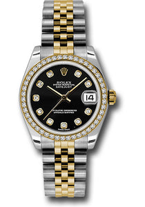 Rolex Steel, YG, & Diamond Datejust - 31mm - Mid-Size #178383 bkdj