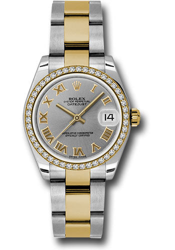 Rolex Steel, YG, & Diamond Datejust - 31mm - Mid-Size #178383 gro