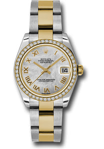 Rolex Steel, YG, & Diamond Datejust - 31mm - Mid-Size #