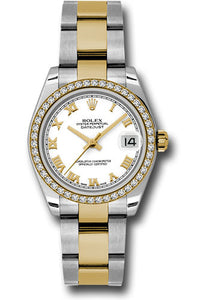 Rolex Steel, YG, & Diamond Datejust - 31mm - Mid-Size #178383 wro