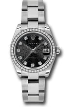 Rolex Steel, WG, & Diamond Datejust - 31mm - Mid-Size #178384 bkjdo