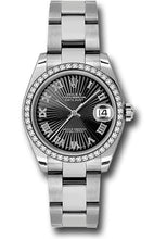 Rolex Steel, WG, & Diamond Datejust - 31mm - Mid-Size #178384 bksbro